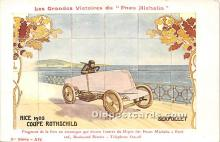 spo020880 - Old Vintage Auto Racing Postcard Post Card