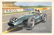 spo020881 - Old Vintage Auto Racing Postcard Post Card