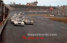 spo020897 - Old Vintage Auto Racing Postcard Post Card