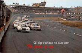spo020898 - Old Vintage Auto Racing Postcard Post Card