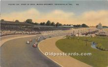 spo020905 - Old Vintage Auto Racing Postcard Post Card