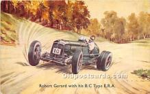 spo020908 - Old Vintage Auto Racing Postcard Post Card