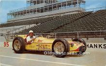 spo020909 - Old Vintage Auto Racing Postcard Post Card