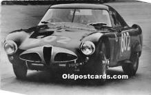 spo020915 - Old Vintage Auto Racing Postcard Post Card