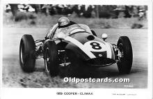spo020917 - Old Vintage Auto Racing Postcard Post Card