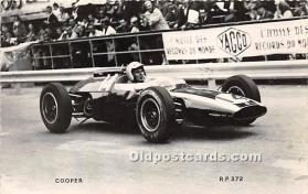 spo020920 - Old Vintage Auto Racing Postcard Post Card