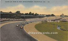 spo020923 - Old Vintage Auto Racing Postcard Post Card