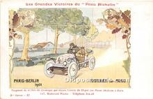 spo020924 - Old Vintage Auto Racing Postcard Post Card