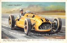 spo020930 - Old Vintage Auto Racing Postcard Post Card