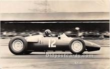spo020931 - Old Vintage Auto Racing Postcard Post Card