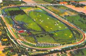 spo020934 - Old Vintage Auto Racing Postcard Post Card