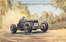 spo020935 - Old Vintage Auto Racing Postcard Post Card