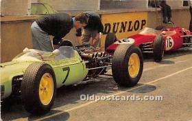 spo020938 - Old Vintage Auto Racing Postcard Post Card
