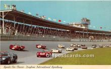 spo020939 - Old Vintage Auto Racing Postcard Post Card