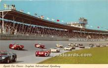 spo020941 - Old Vintage Auto Racing Postcard Post Card