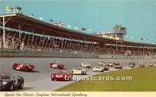 spo020942 - Old Vintage Auto Racing Postcard Post Card