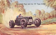 spo020946 - Old Vintage Auto Racing Postcard Post Card