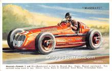 spo020949 - Old Vintage Auto Racing Postcard Post Card