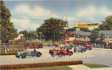spo020950 - Old Vintage Auto Racing Postcard Post Card