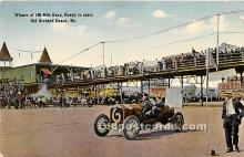spo020951 - Old Vintage Auto Racing Postcard Post Card