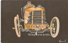 spo020952 - Old Vintage Auto Racing Postcard Post Card