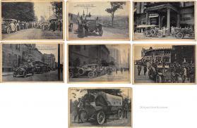 spo020954 - Old Vintage Auto Racing Postcard Post Card