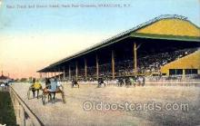 spo021024 - Syracuse NY racing postcard postcards