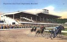spo021032 - Hagerstown, Maryland Horse Racing Postcard Postcards