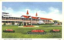 spo021036 - Louisville, KY USA Horse Racing Postcard Postcards