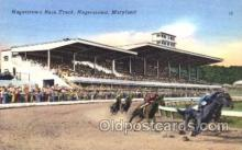 spo021038 - Hagerstown, Maryland USA Horse Racing Postcard Postcards