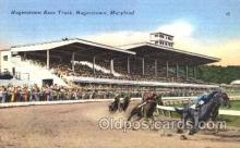 spo021043 - Hagerstown, Maryland USA Horse Racing Postcard Postcards