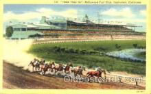 spo021048 - Inglewood, Cal, USA Horse Racing Postcard Postcards