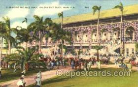 spo021053 - Hialeah Park, Miami FL USA Horse Racing Postcard Postcards