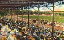 spo021057 - Myrtle Beach, SC USA Horse Racing Postcard Postcards