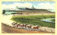 spo021058 - Inglewood, Cal, USA Horse Racing Postcard Postcards