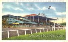 spo021059 - Arcadia, Cal, USA Horse Racing Postcard Postcards