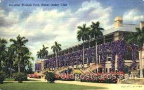 spo021060 - Hialeah Park, Miami FL USA Horse Racing Postcard Postcards