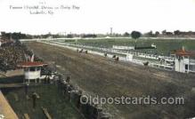 spo021067 - Louisville, KY USA Horse Racing Postcard Postcards