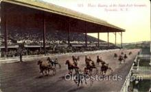 spo021070 - Syracuse, NY USA Horse Racing Postcard Postcards