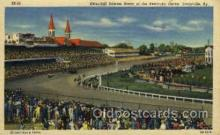 spo021093 - Churchill Downs, Louisville, KY, USA Horse Racing Trotter, Postcard Postcards