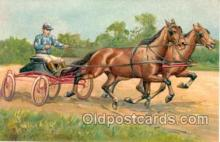 spo021301 - Horse Racing, Trotters,  Postcard Postcards