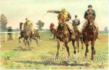 spo021303 - Horse Racing, Trotters,  Postcard Postcards