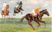 spo021304 - Horse Racing, Trotters,  Postcard Postcards