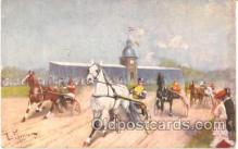 spo021310 - Horse Racing, Trotters,  Postcard Postcards