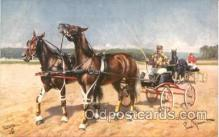 spo021312 - Horse Racing, Trotters,  Postcard Postcards
