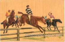 spo021314 - Horse Racing, Trotters,  Postcard Postcards