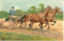 spo021319 - Horse Racing, Trotters,  Postcard Postcards