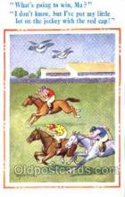 spo021402 - Horse Racing, Trotters, Postcard Postcards