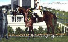 spo021409 - Gallahadion, Winner of Kentucky Derby, Horse Racing, Trotters, Postcard Postcards