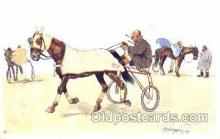 spo021434 - Horse Racing, Trotters, Postcard Postcards